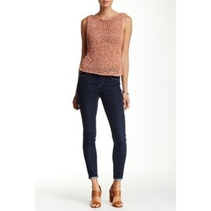 Articles of Society Sarah Soft Blue Skinny Jeans